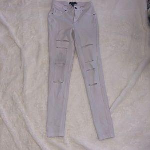 White pants !